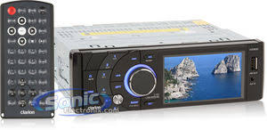 clarion vz300 vz 300 in dash dvd player car stereo w 3 5 monitor product clarion vz300 vz 300