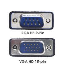 15 pin vga cable connection diagram wirdig hd15 pin vga to db 9 pin rgb video adapter cable