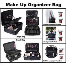 pro makeup cosmetic partment travel storage bag organizer box