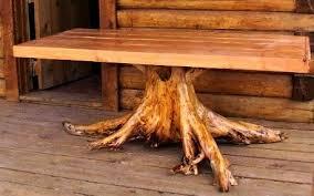 log furniture log table rustic furniture