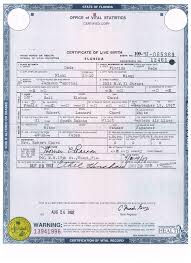 Awesome Collection Of Apostille Birth Certificate Florida With