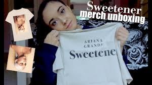 Unboxing Ariana Grande Merch Sweetener Pt 1