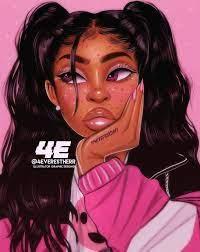Pink Black Girls Wallpapers - Wallpaper ...