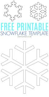 Simply cut off the black parts and carefully unfold the paper to achieve the desired pattern. Free Snowflake Template Printable Pdf Crafts On Sea
