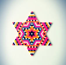 Cool Designs With Perler Beads Star Hama Perler Bead Design By Sara Seir Diy Perler Beads