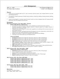 Sales Skills Resume Impressive Sales Skills Resume Resume Badak