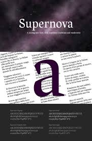 Supernova Font - Freebie Supply