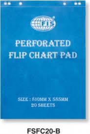 Flip Chart Pad Fis Fsfc20 B Flip Chart Pad 100gsm 585 X 810mm White Price In Dubai Uae Compare Prices