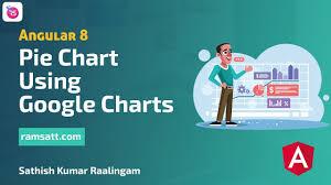 Google Charts For Angular 5 Pie Chart Using Google Charts Angular 8 Ramsatt Sathish Kumar Ramalingam