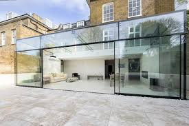 extraordinary glass extension in london glass box extension