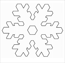 Blank Snowflake Template Free 7 Sample Awesome Snowflake Templates In Pdf