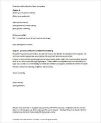dept collection letter sample collection letter 9 examples in word pdf