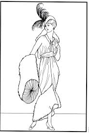 Renaissance Costumes And Clothing Coloring Pages
