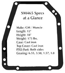 Gm Manual Transmission Identification Chart The Novak Guide To The Gm Muncie Sm465 Transmission