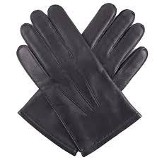dents keston men s leather gloves knitted lining black