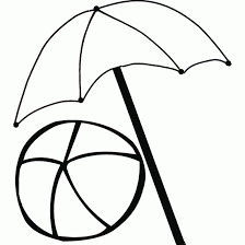 Small Picture Beach Umbrella Coloring Page Coloring Coloring Pages