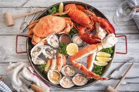 Gorgeous Seafood Platter Image Stock ...