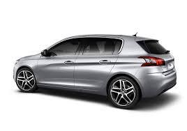 2014 Peugeot 308-silver rear |