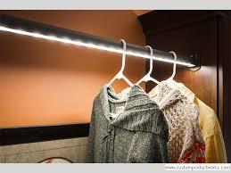 led lighted closet rod