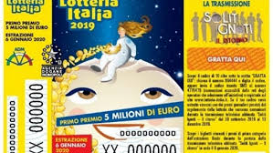 Lotteria Italia i biglietti vincenti. Il primo premio a ...