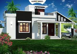 900 sq feet kerala house plans 3D front elevation in 2019 | House ...