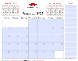Calendar 2013 Template Blank 2014 Editable Fillable Pdf Calendar Pro Free