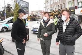Son dakika haberleri... Çorlu'da kısıtlama denetimi ve anonslu uyarı -  Haberler