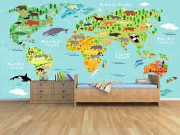 kids world map decal fresh design jumbo world map decal best of kids world map wall