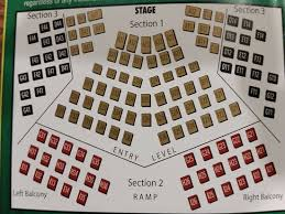Broad Theater Seating Chart Seating Picture Of La Comedia Dinner Theatre Springboro