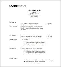 Free Printable Resume Templates Microsoft Word Inspiration Free Printable Resume Templates Microsoft Word Lovely Free Resume