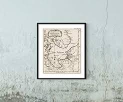 Amazon Com 1764 Map Chart Atlas Carte De La Mer Blanche