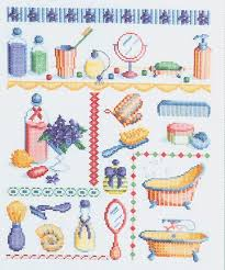 cute cross stitch bathroom patterns