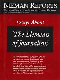 nieman reports  the elements of journalism