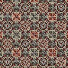 491m red tile effect vinyl flooring