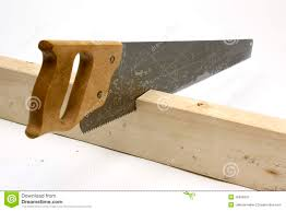 wood hand saw. royalty-free stock photo. download hand saw cutting wood