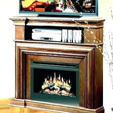 black electric fireplace stand long big lots tv friday deals