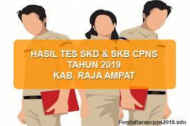 Tes di atas akan memengaruhi lulus atau tidaknya calon karyawan dalam seleksi. Hasil Tes Skd Dan Skb Cpns Kabupaten Raja Ampat 2019