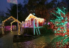 garden of lights at brookside gardens