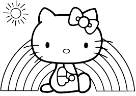 Baby Hello Kitty Coloring Pages Gyerekpalotainfo