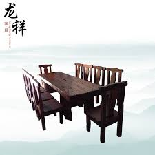 ship wood furniture. handcarved wooden furniture all wood old ship boat dining chair table n