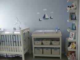 sailboat nursery decor for boy