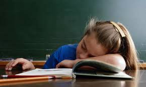 Why Schools Should Have Later Start Times by Jessica W    Letters     Letters to the Next President               child asleep in class jpg