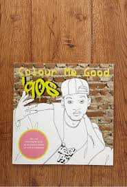 colour me good 90s colouring book by mel simone elliott