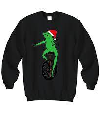 Dat Boi Santa Christmas sweatshirt