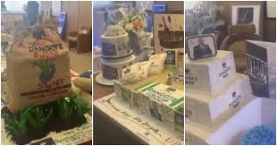 Amazing Customized Cakes Designed As Dangote Products Flood