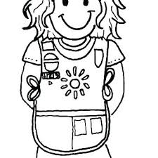 Daisy Girl Scout Coloring Page Pages Free Color Promise Cookie