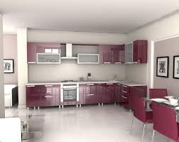 Small Picture Modern Red Kitchen Interior Design Inspirations Modern Maroon
