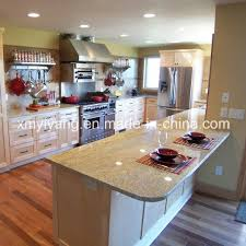 polished bullnose wooden yellow marble countertop yqc mc1002