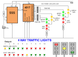 4 way traffic lights diagram tech gadgets 4 way traffic lights diagram