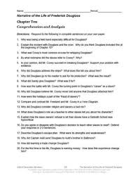 of the life of frederick douglass common core aligned literature guide narrative of the life of frederick douglass common core aligned literature guide